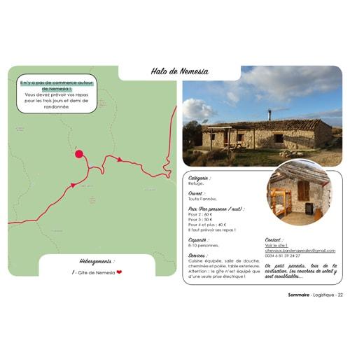 Guide de randonnée pour marcher en autonomie dans le désert des Bardenas en Espagne.