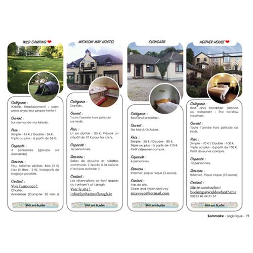 Guide de randonnée pour marcher en autonomie dans les montagnes de Wicklow en Irlande.